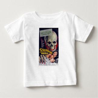 T-shirt Pour Bébé Crâne criard