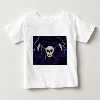 T-shirt Pour Bébé Crâne et faux