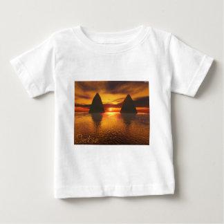 T-shirt Pour Bébé Crépuscule