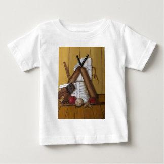 T-shirt Pour Bébé Cricket vintage