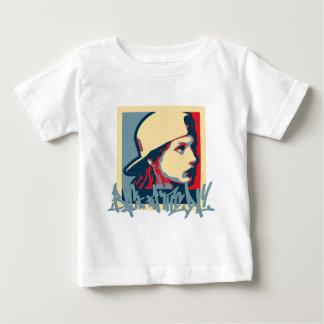 T-shirt Pour Bébé Crime vintage d'art de Hiphop Oldschool d'auteur