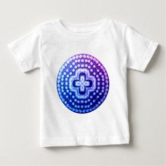T-shirt Pour Bébé croix cloutée de bouclier