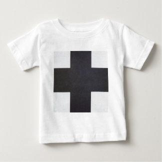 T-shirt Pour Bébé Croix noire par Kazimir Malevich