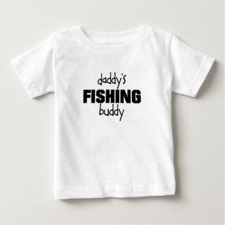 T-shirt Pour Bébé daddys pêchant l'ami