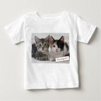 T-shirt Pour Bébé D'amis équipements de chatons pour toujours
