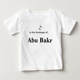 T-shirt Pour Bébé Dans les pas de… Abu Bakr