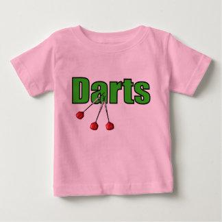 T-shirt Pour Bébé Dards avec 3 dards