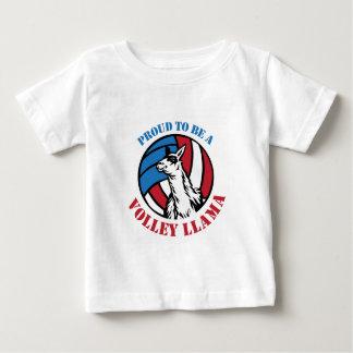 T-shirt Pour Bébé Démarche assurée de lama de volée