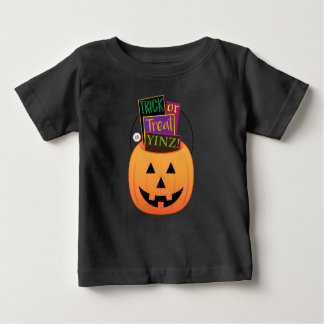 T-shirt Pour Bébé Des bonbons ou un sort Yinz ! Conception