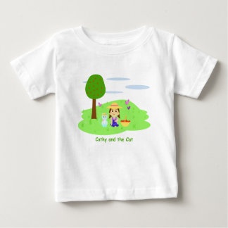 T-shirt Pour Bébé Des chaussures en toile pour boivent «Cathy and
