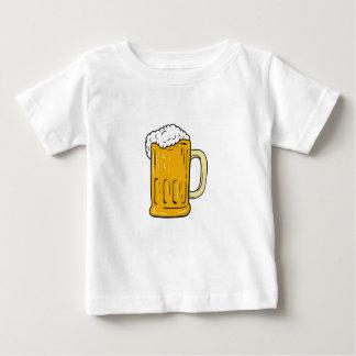 T-shirt Pour Bébé Dessin de tasse de bière