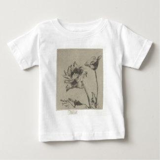 T-shirt Pour Bébé Deux fleurs - Ren. français