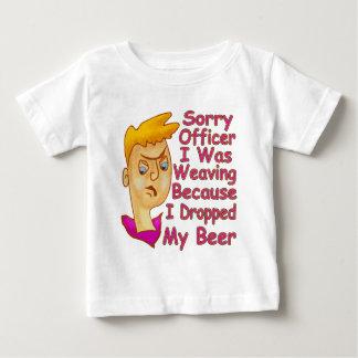 T-shirt Pour Bébé Dirigeant désolé