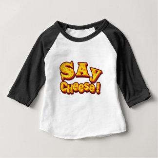 T-shirt Pour Bébé dites le fromage !