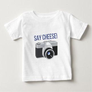 T-shirt Pour Bébé Dites le fromage