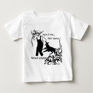 T-shirt Pour Bébé Dobermann couru rapidement