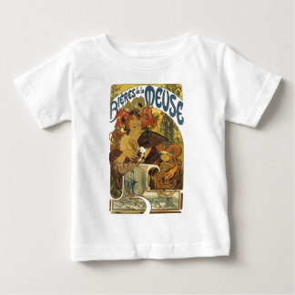 T-shirt Pour Bébé Domestique française de bière