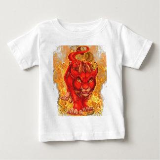 T-shirt Pour Bébé dragon-lion