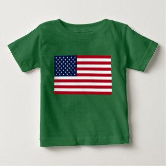 T-shirt Pour Bébé Drapeau américain