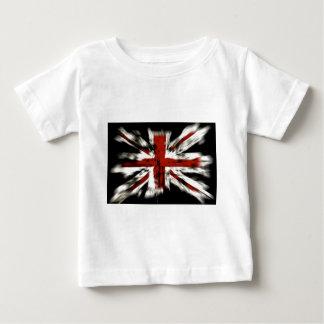 T-shirt Pour Bébé Drapeau britannique