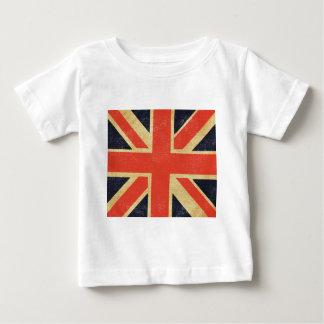 T-shirt Pour Bébé Drapeau BRITANNIQUE vintage
