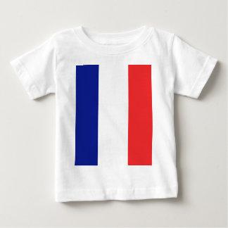 T-shirt Pour Bébé Drapeau de Français Tricolore de la France
