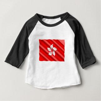 T-shirt Pour Bébé Drapeau de Hong Kong