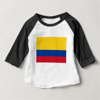 T-shirt Pour Bébé Drapeau de la Colombie - le Bandera De Colombie