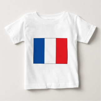 T-shirt Pour Bébé Drapeau de la France