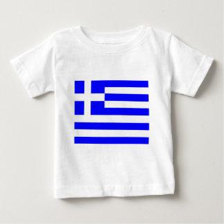 T-shirt Pour Bébé Drapeau de la Grèce