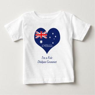 T-shirt Pour Bébé Drapeau de l'Australie
