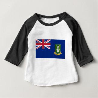 T-shirt Pour Bébé Drapeau des Îles Vierges britanniques