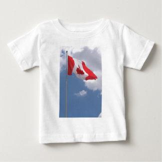 T-shirt Pour Bébé Drapeau du Canada