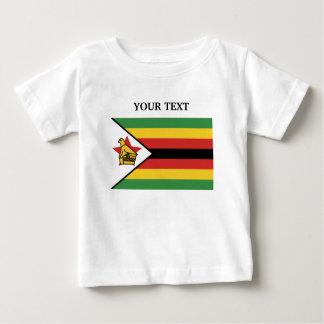 T-shirt Pour Bébé Drapeau du Zimbabwe