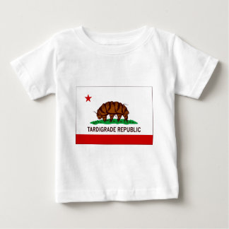 T-shirt Pour Bébé Drapeau Tardigrade de République