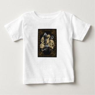 T-shirt Pour Bébé Dronte et Alice dans la chemise du pays des