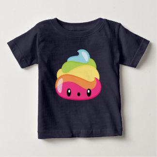 T-shirt Pour Bébé Dunette Emoji d'arc-en-ciel