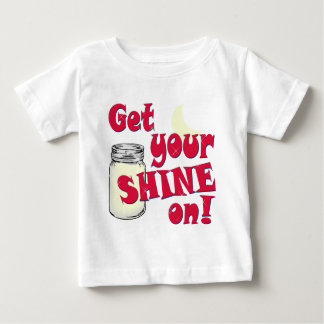 T-shirt Pour Bébé éclat dessus