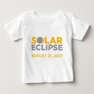 T-shirt Pour Bébé Éclipse solaire le 21 août 2017