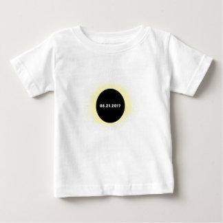 T-shirt Pour Bébé Éclipse solaire totale