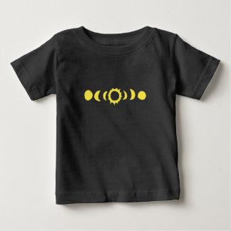 T-shirt Pour Bébé Éclipse solaire totale 2017