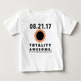 T-shirt Pour Bébé Éclipse solaire totale tee - shirt impressionnant