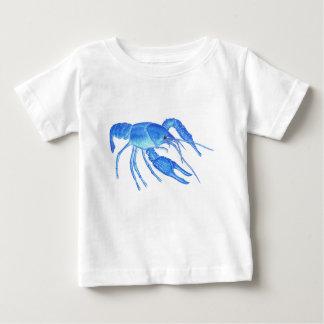 T-shirt Pour Bébé Écrevisses bleues