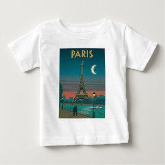 T-shirt Pour Bébé Eiffel Tower vintage Paris