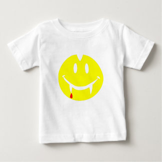 T-shirt Pour Bébé emoji Dracula de vampire
