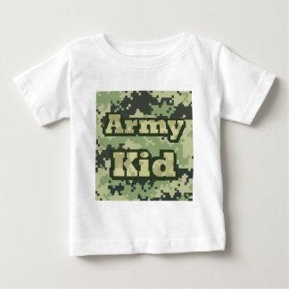 T-shirt Pour Bébé Enfant d'armée