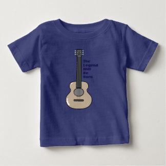 T-shirt Pour Bébé Enfants de guitariste