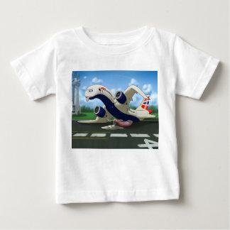 T-shirt Pour Bébé Enfants épuisés de British Airways du hangar de