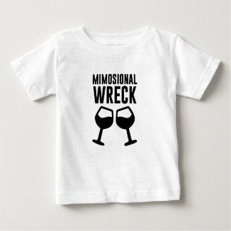 T-shirt Pour Bébé Épave de Mimosional