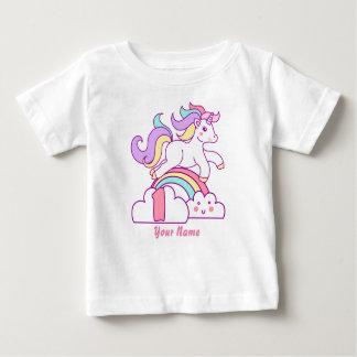 T-shirt Pour Bébé Ęr anniversaire de licorne